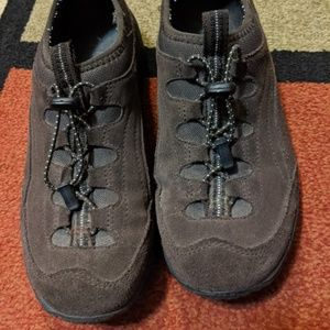 LL BEAN Slip On Brown Suede Leather Comfort Mocs
